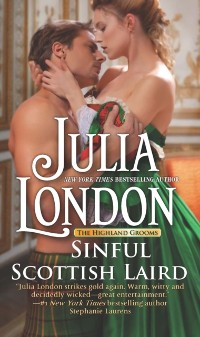 Cover Sinful Scottish Laird (The Highland Grooms, Book 2)