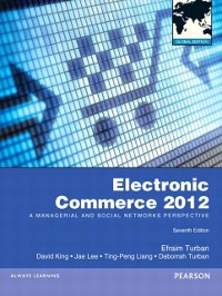 Cover Electronic Commerce 2012 Global Edition
