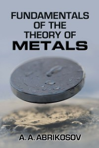 Cover Fundamentals of the Theory of Metals