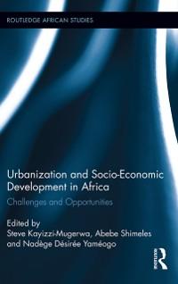 Cover Urbanization and Socio-Economic Development in Africa