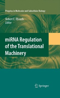 Cover miRNA Regulation of the Translational Machinery