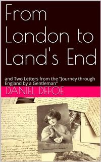 "Cover From London to Land's End / and Two Letters from the ""Journey through England by a Gentleman"""