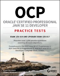 Cover OCP Oracle Certified Professional Java SE 11 Developer Practice Tests