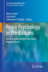 Cover Peace Psychology in the Balkans