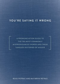 Cover You're Saying It Wrong