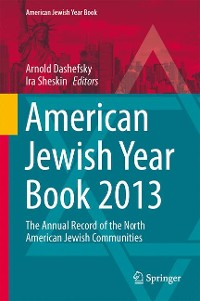 Cover American Jewish Year Book 2013
