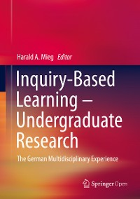 Cover Inquiry-Based Learning - Undergraduate Research