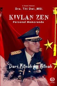 Cover Kivlan Zen, Personal Memoranda,