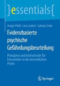 Cover Evidenzbasierte psychische Gefährdungsbeurteilung