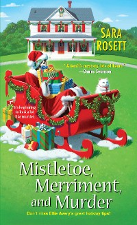 Cover Mistletoe, Merriment, and Murder