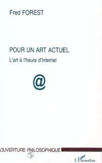 Cover Pour un art actuel