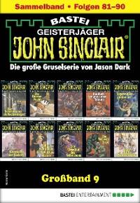 Cover John Sinclair Großband 9 - Horror-Serie