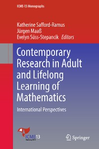 Cover Contemporary Research in Adult and Lifelong Learning of Mathematics