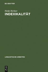 Cover Indexikalität
