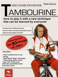 Cover Video course for everyone tambourine Volume 1