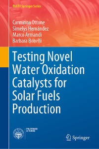 Cover Testing Novel Water Oxidation Catalysts for Solar Fuels Production