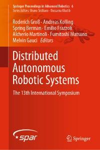 Cover Distributed Autonomous Robotic Systems