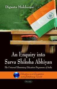 Cover Enquiry into Sarva Shiksha Abhiyan