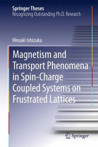 Cover Magnetism and Transport Phenomena in Spin-Charge Coupled Systems on Frustrated Lattices