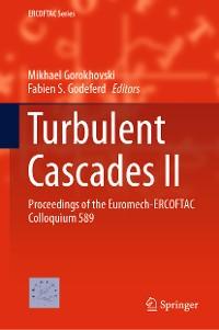 Cover Turbulent Cascades II