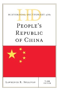 Cover Historical Dictionary of the People's Republic of China