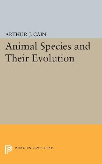 Cover Animal Species and Their Evolution