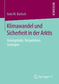Cover Klimawandel und Sicherheit in der Arktis