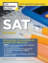 Cover Math Workout for the SAT, 5th Edition