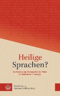 Cover Heilige Sprachen?