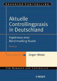 Cover Aktuelle Controllingpraxis in Deutschland