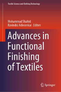 Cover Advances in Functional Finishing of Textiles