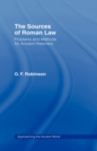 Cover Sources of Roman Law