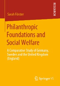 Cover Philanthropic Foundations and Social Welfare