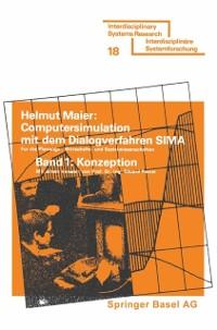 Cover Computersimulation mit dem Dialogverfahren SIMA