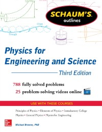 Cover Schaums Outline of Physics for Engineering and Science 3/E (EBOOK)