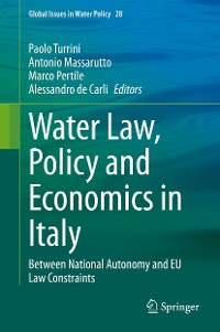 Cover Water Law, Policy and Economics in Italy