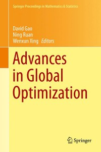 Cover Advances in Global Optimization