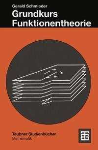 Cover Grundkurs Funktionentheorie