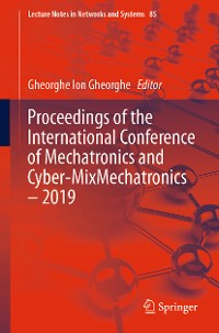 Cover Proceedings of the International Conference of Mechatronics and Cyber-MixMechatronics – 2019