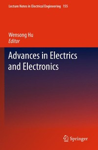 Cover Advances in Electric and Electronics