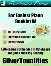 Cover Enchanted Ivories for Easiest Piano Booklet W