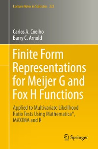 Cover Finite Form Representations for Meijer G and Fox H Functions