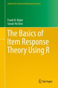 Cover Basics of Item Response Theory Using R