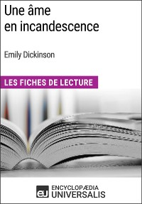 Cover Une âme en incandescence d'Emily Dickinson