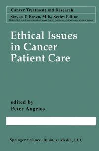 Cover Ethical Issues in Cancer Patient Care