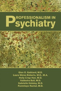 Cover Professionalism in Psychiatry