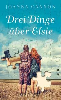 Cover Drei Dinge über Elsie