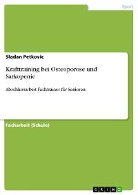 Cover Krafttraining bei Osteoporose und Sarkopenie