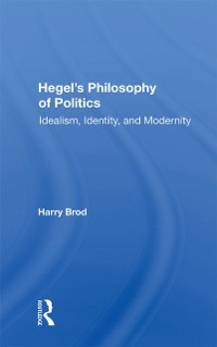 Cover Hegel's Philosophy Of Politics