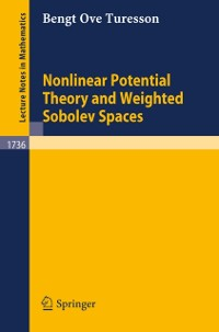 Cover Nonlinear Potential Theory and Weighted Sobolev Spaces